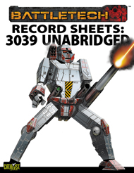 Record Sheets: 3039 Unabridged