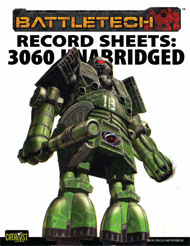 Record Sheets: 3060 Unabridged