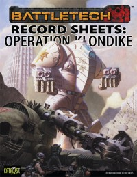 Record Sheets: Operation Klondike