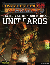 Quick-Strike: Technical Readout: 3055 Unit Cards