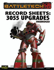Record Sheets: 3055 Upgrade Unabridged