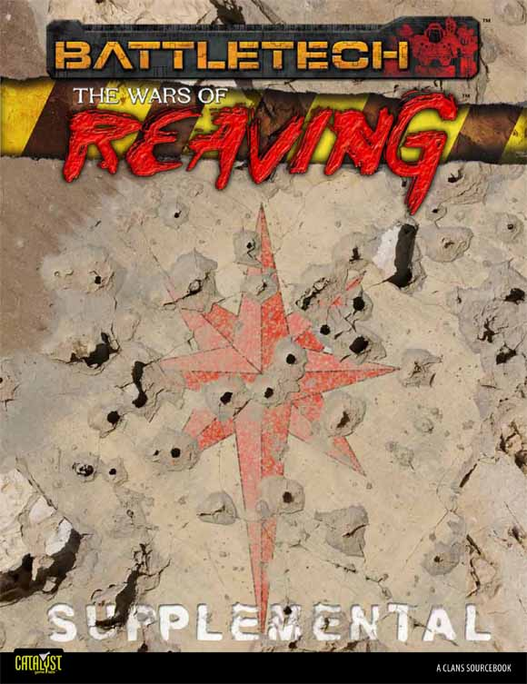 E CAT35S002 The Wars of Reaving Supplemental Cover