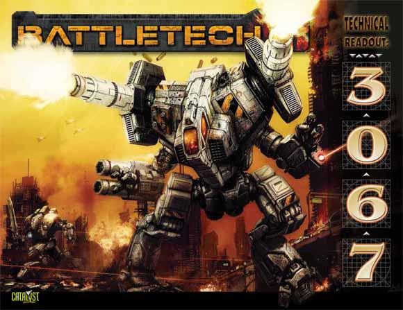 E CAT35127 BattleTech Technical Readout 3067 Cover 580wide