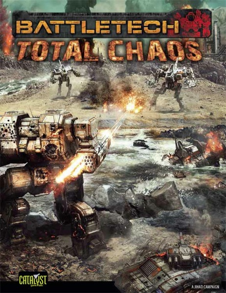 E CAT35400 Total Chaos Cover Cover