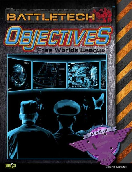 E CAT35OB004 Objectives Free Worlds League Cover Cover 580wide