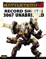 Record Sheets: 3067 Unabridged