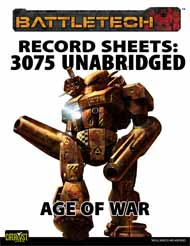 RS: 3075 Unabridged — Age of War
