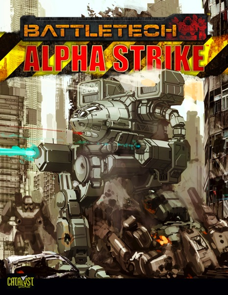 Alpha Strike Cover preview