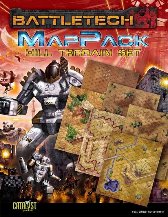 BattleTech: MapPack: Hill Terrain Set