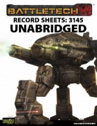 Record Sheets: 3145 Unabridged