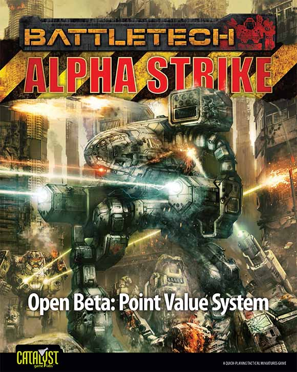 BattleTech: Alpha Strike Point Value System Beta