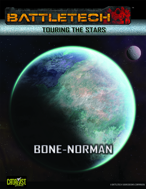 BattleTech Touring the Stars: Bone-Norman