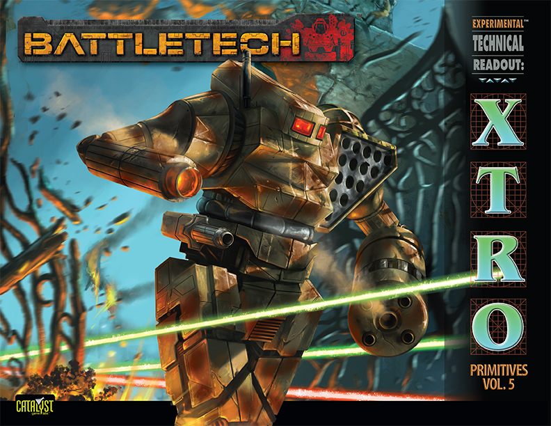 BattleTech Experimental Technical Readout: Primitives V